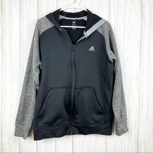 Adidas Jacket with Hood Size L